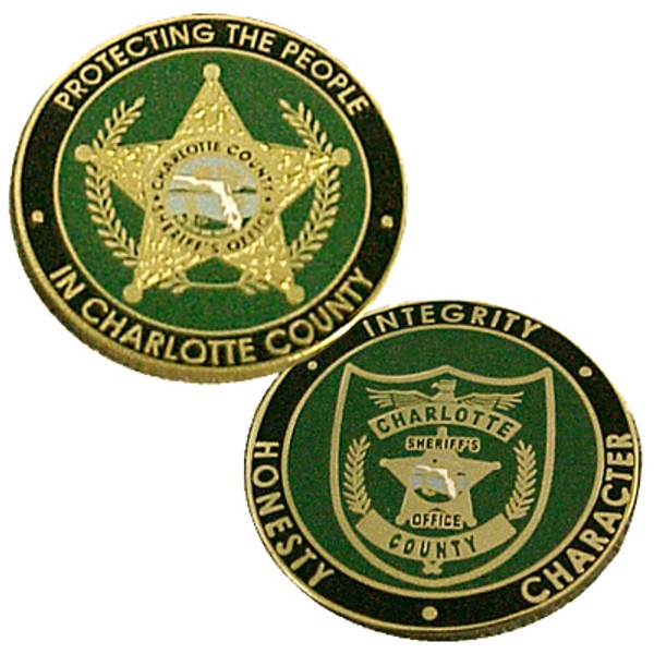 Charlotte County Sheriff's Office Coin