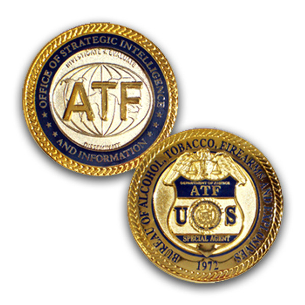 ATF Coin Office Of Strategic Intelligence and Information