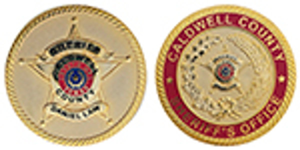 CALDWELL COUNTY SHERIFF'S OFFICE COIN, DANIEL LAW
