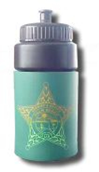 Water Pop up Squirt Bottle feat. the Palm Beach County Sheriff's Star
