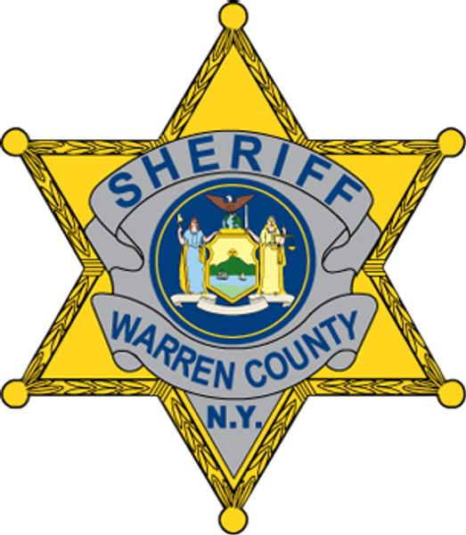 Warren County Sheriff's Badge Plaque