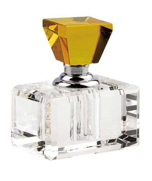 "Badash 2"" Amber Crystal Perfume Bottle (YD369)"