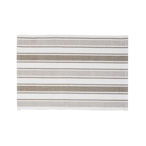 C&F Chandler Stripe Clay Placemat, Set of 4