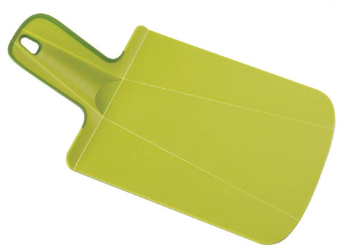 Joseph Joseph Mini Chop2Pot Foldable Plastic Cutting Board, Green
