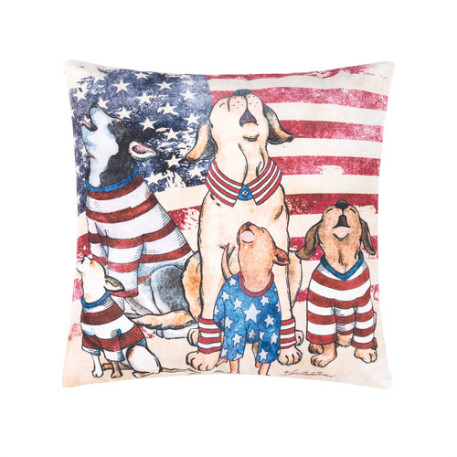 C&F Howlers For Freedom Pillow (85145111)