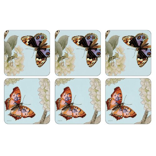 Pimpernel Coasters, Endless Summer, Pack of 6