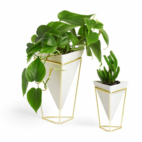 Umbra Trigg Planter Vase, Set of 2