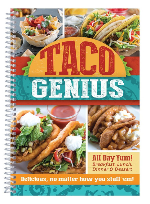 CQ Products Taco Genius Spiral-bound (7130)