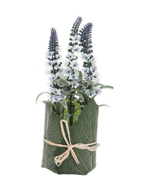 C&F Home Lavender Nosegay White (PCK74208-WHT)