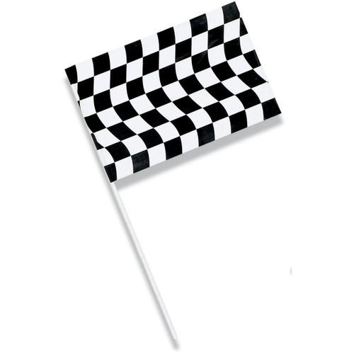 CEG Jumbo Flag, Black & White Check (010546810)
