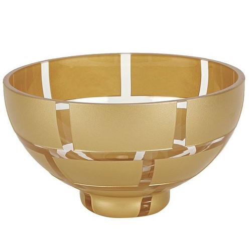 "Badash 7"" Gold Wall Bowl (CD111)"