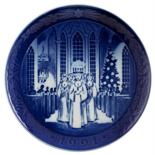 Royal Copenhagen 1991 Christmas Plate