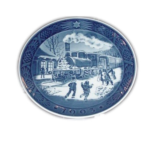 Royal Copenhagen 1993 Christmas Plate