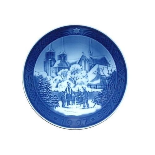 Royal Copenhagen 1997 Christmas Plate