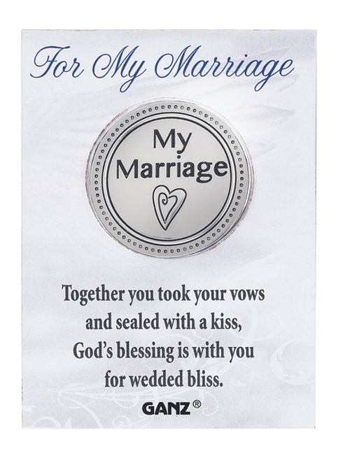 Ganz Pocket Charm - For My Marriage