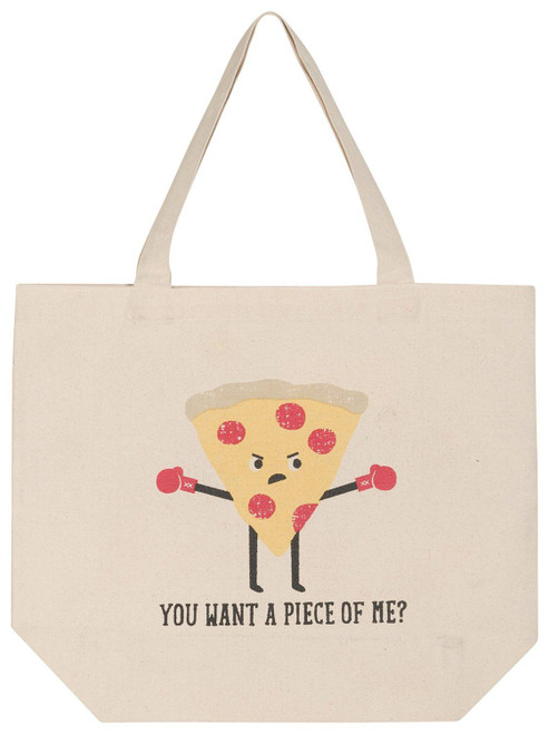 Now Designs Tote Bags, Pizza
