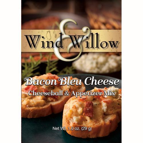 Wind & Willow Cheeseball & Appetizer Mix, Bacon Bleu Cheese