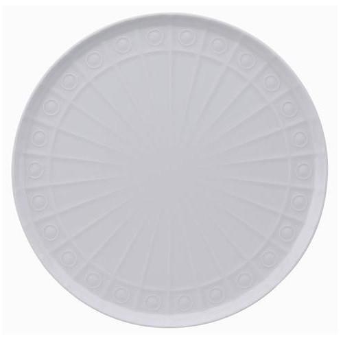 "BIA Osmose 11.75"" Round Cake Plate, White"