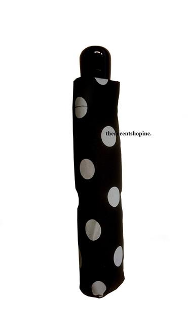Midwest CBK Auto Umbrella, Black/White Dots