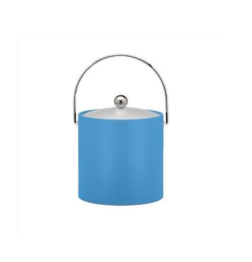 Kraftware 3 Quart Ice Bucket, Blue
