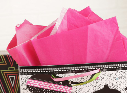 The Gift Wrap Company Solid Gift Tissue, Magenta