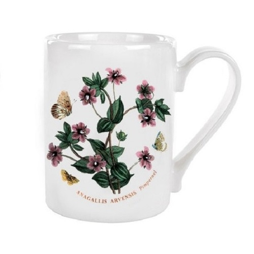Portmeirion Botanic Garden 10oz Coffee Mug, Pimpernel