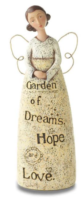 "Demdaco  ""Garden of Dreams, Hope and Love"" Mini Garden Angel"