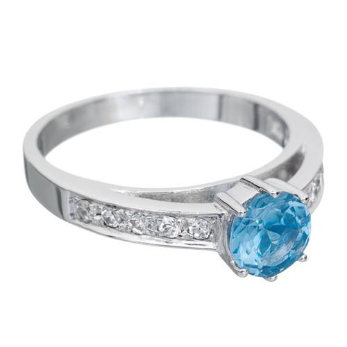 Annaleece Adore Ring, Blue, Size 8