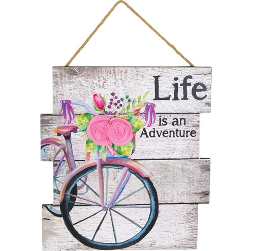 "Hanna's Handiworks ""Life is an Adventure"" Sign"