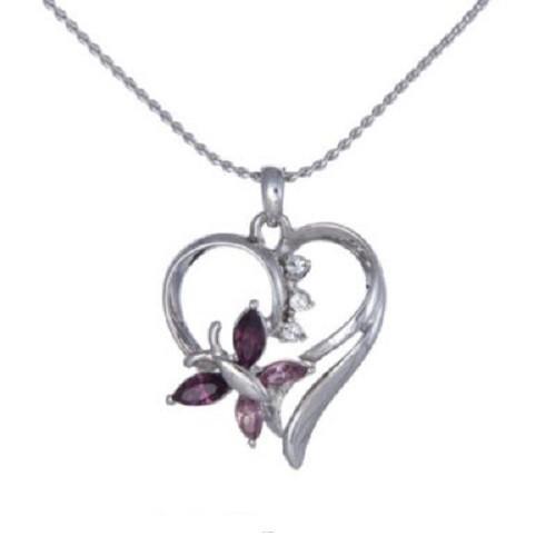 Annaleece Heart Flutters Necklace