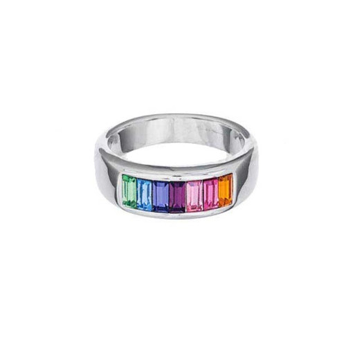 Annaleece Rainbow Ring, Size 7