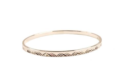 Annaleece Etched Bracelet