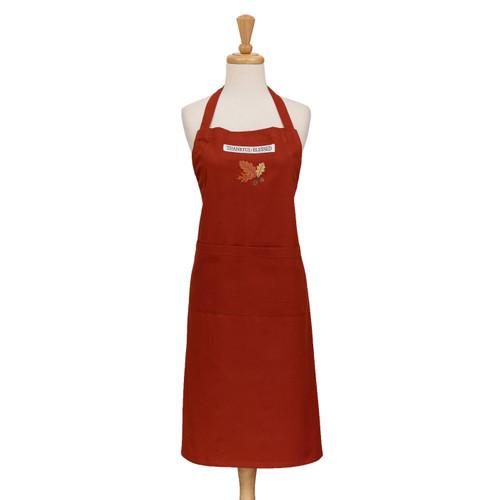 Design Imports India Acorn Oak Apron