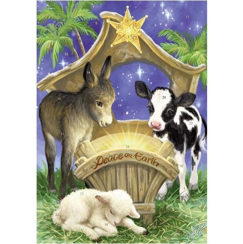 Vermont Christmas Company Peace on Earth Advent Calendar