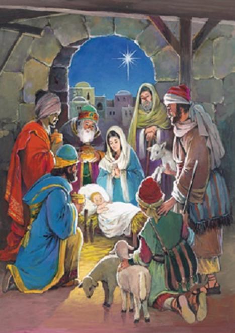 Vermont Christmas Company Advent Calendar, Savior's Light