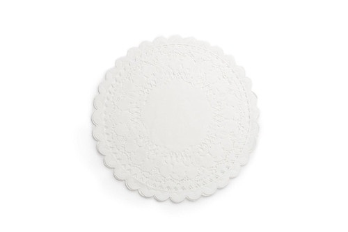 Fox Run 12-Inch White Paper Lace Doilies, Pack of 12