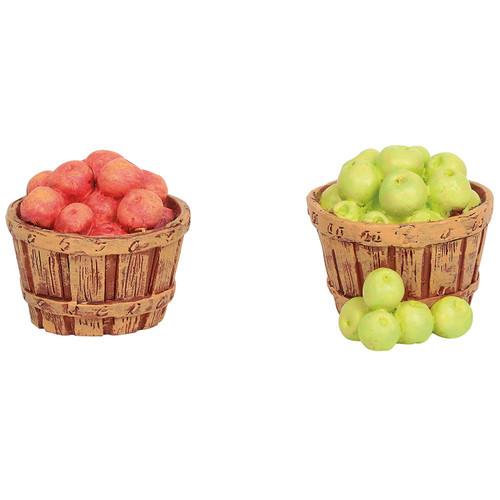 Department 56 Village Accessories Baskets of Apples Figurines