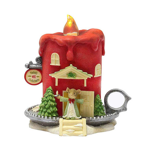 Enesco Tails with Heart Nimbles Wee Candle House