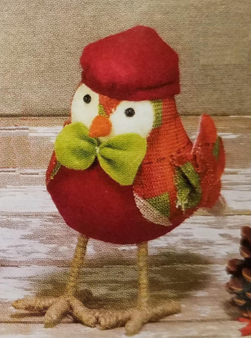 Hanna's Handiworks Harvest Bird, Red Hat