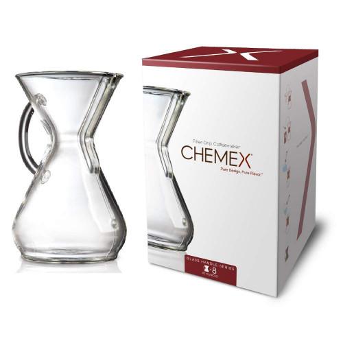 Chemex Handle Series Coffeemaker, 8 Cup (CM-8GH)