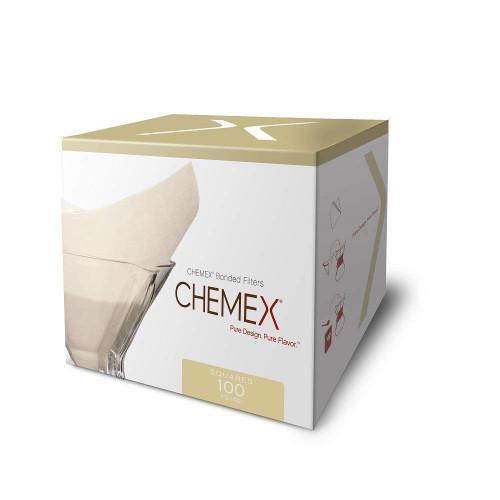 Chemex Filters, Bonded Pre-Folded Squares (FS-100)