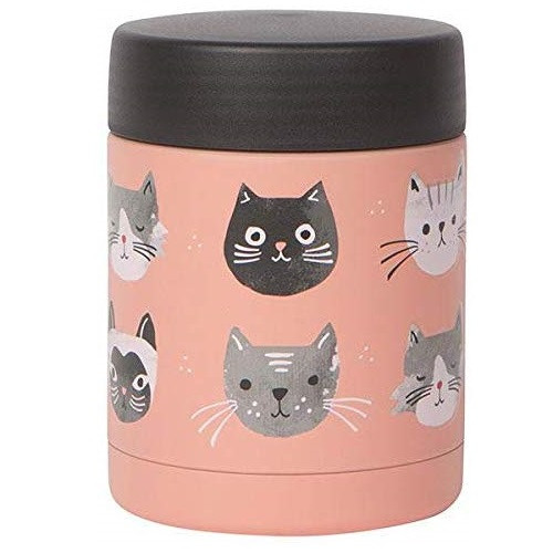 Now Designs Small Food Jar, Cats Meow