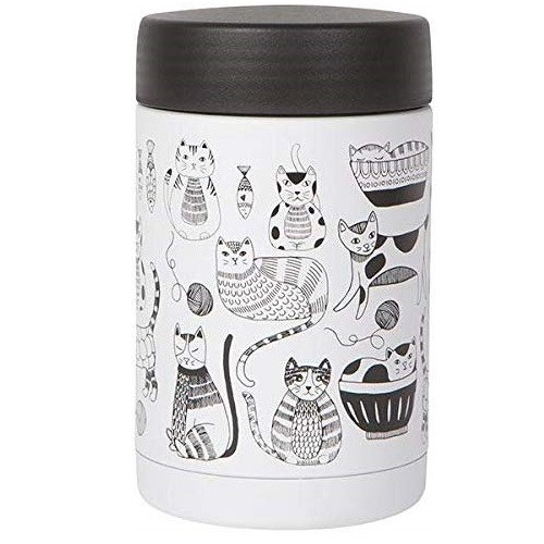 Now Designs Large Food Jar, Purr Party