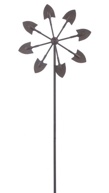 Midwest-CBK Kinetic Shovel Windmill Stake