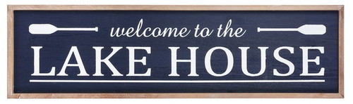 "Midwest CBK ""Welcome To The Lake House"" Sign"