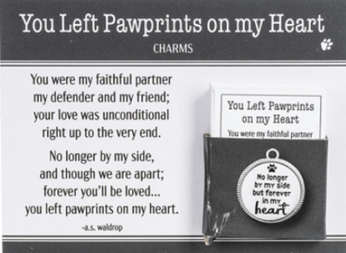 Ganz Charm - You Left Pawprints On My Heart