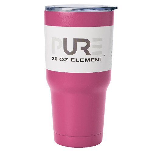 Pure Drinkware 30oz Stainless Steel Tumbler, Pink