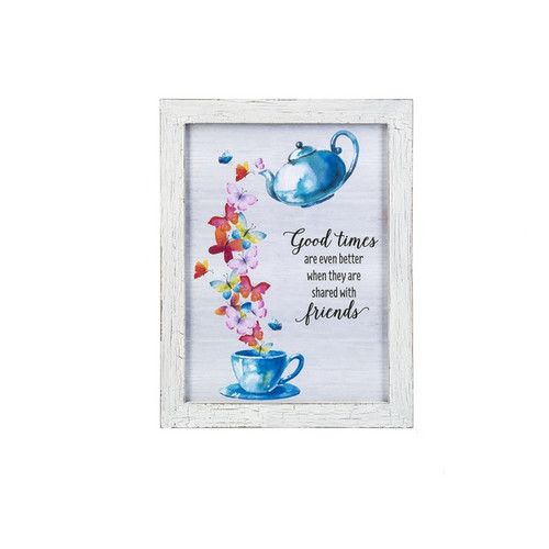 Ganz Framed Wall Plaques, Good Times Are Even Better...