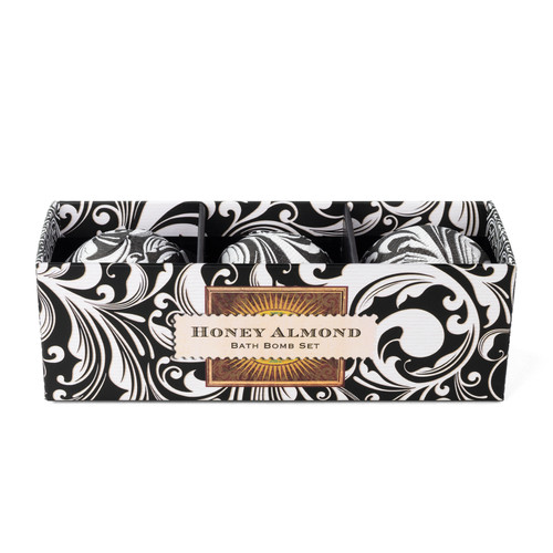 Michel Design Works Bath Bomb Set, Honey Almond