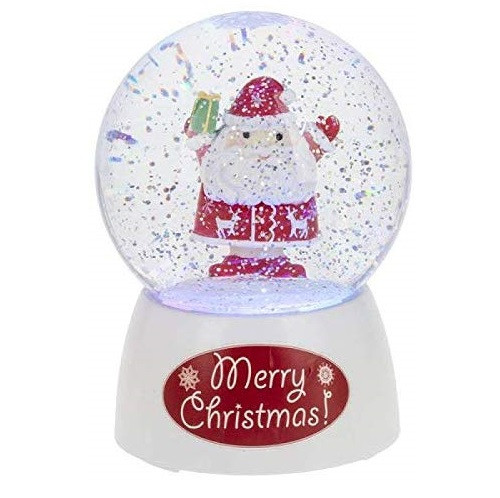Midwest CBK Light Up Santa Musical Globe